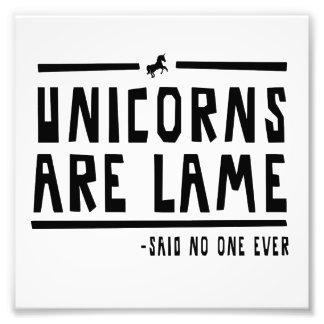 Unicorns Are Lame Photo