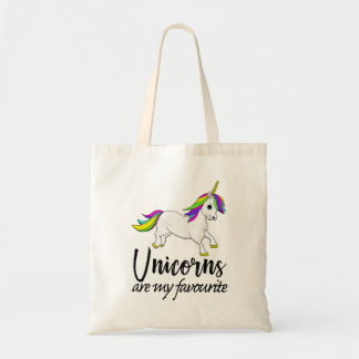 Unicorns are my favourite Tote Bag