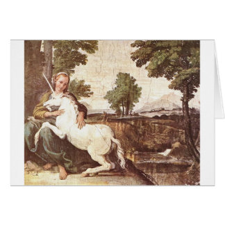 Unicorns Note Card