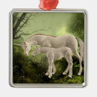 Unicorns Christmas Ornament