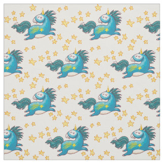 Unicorns Fabric