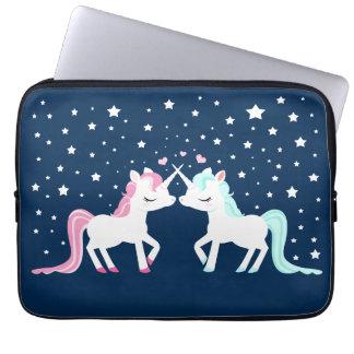 Unicorns in Love Laptop Sleeve