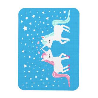 Unicorns in love magnet
