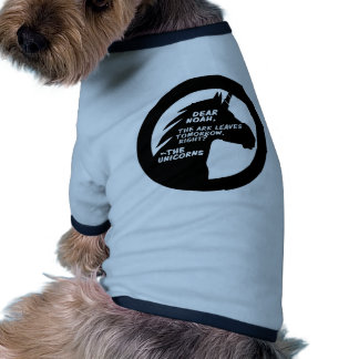 Unicorns Missed the Ark Ringer Dog Shirt