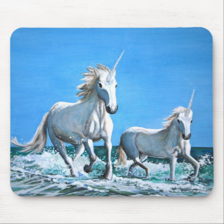 """Unicorns"" mouse pad"