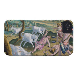 Unicorns on the Banks of the Indus, Hunted by Perm Case-Mate iPhone 4 Case