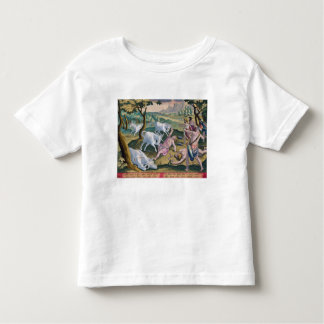 Unicorns on the Banks of the Indus, Hunted by Perm Toddler T-Shirt