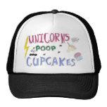 Unicorns POOP Cupcakes Hats