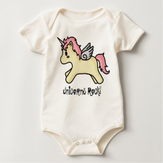 Unicorns Rock [Pink] Infant Creeper