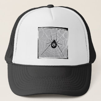 Unicursal Hexagram Black Widow Hat