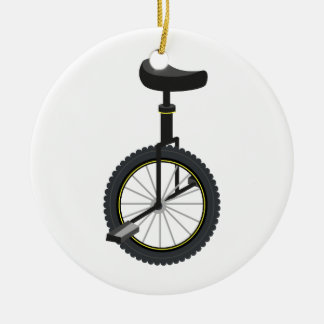 Unicycle Christmas Ornament