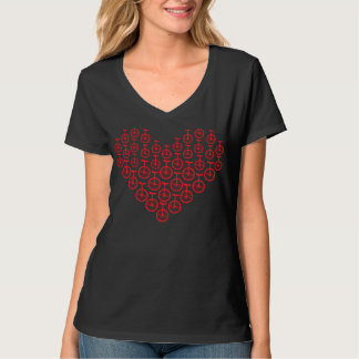 Unicycle Heart T-Shirt