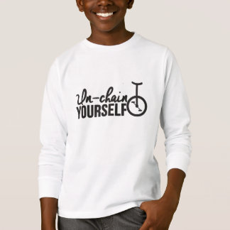 Unicycle | Unchain yourself T-Shirt