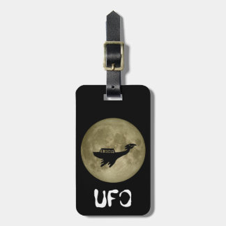 Unidentified Flying Object Luggage Tag