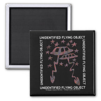 Unidentified Flying Object Refrigerator Magnets