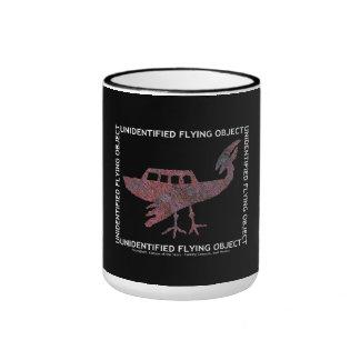 Unidentified Flying Object Ringer Mug