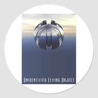 Unidentified Flying Object Stickers