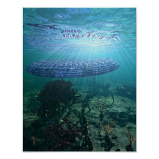 "Unidentified Submerged Object  11"" x 14"" Art Print"
