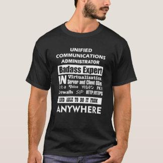 Unified Communications Administrator Badass Expert T-Shirt