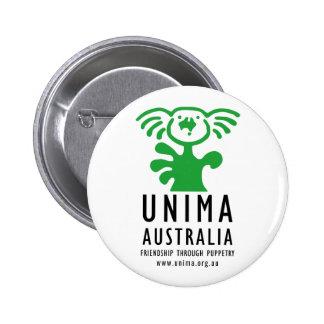 UNIMA Australia Badge WHITE