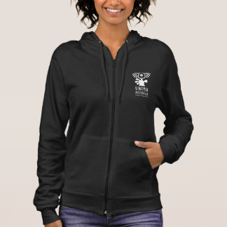 UNIMA Australia Womens Fleece Zip Hoodie