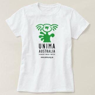 UNIMA Australia Womens T-Shirt White