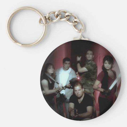 Uninfected Cast Keychain