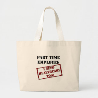 Uninsured Part Timer Canvas Bags