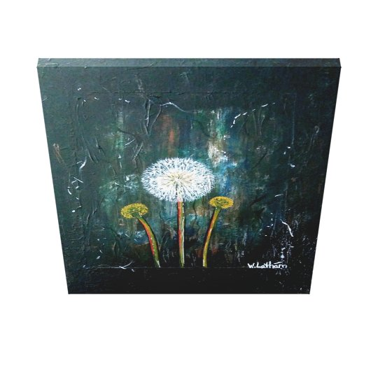 """Uninterrupted wish"" Canvas Print"