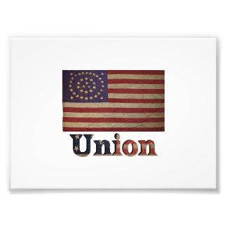 Union Army USA Civil War Flag Photo Print