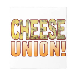 Union Blue Cheese Notepad