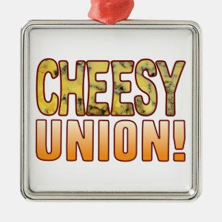 Union Blue Cheesy Christmas Ornament