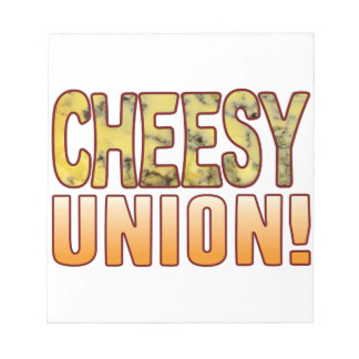 Union Blue Cheesy Notepads