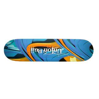 Union Bull Swirl Skateboards