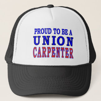 UNION CARPENTER TRUCKER HAT