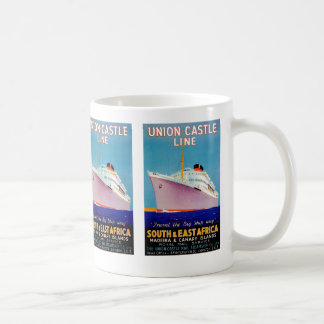 Union Castle ~ The Big Ship Way Coffee Mug