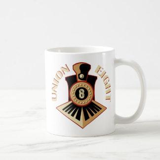 Union Eight Signature Logo Coffee Mugs
