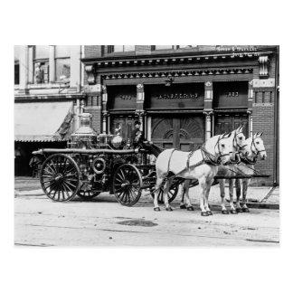 Union Engine No 3 1911 Post Cards