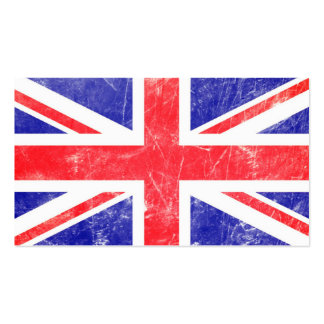 Union Flag Double-Sided Standard Business Cards (Pack Of 100)