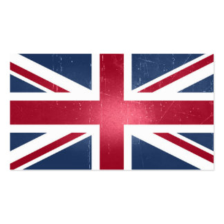 Union Flag Pack Of Standard Business Cards