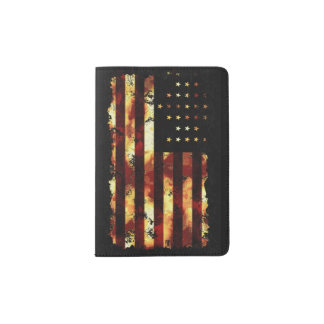 Union Flag, Civil War, Stars and Stripes Passport Holder