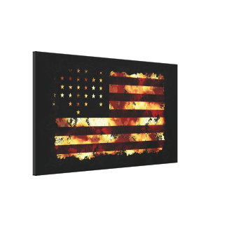 Union Flag, Civil War, Stars and Stripes, USA Canvas Prints