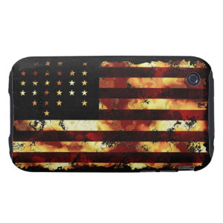 Union Flag, Civil War, Stars and Stripes, USA iPhone 3 Tough Case
