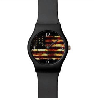 Union Flag, Civil War, Stars and Stripes, USA Watches