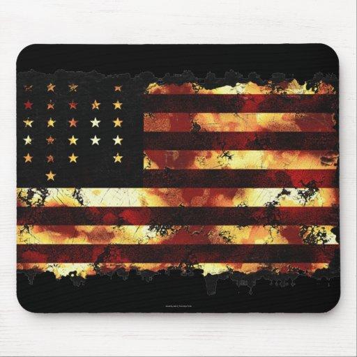 Union Flag, Civil War, Stars and Stripes, USA Mousepad