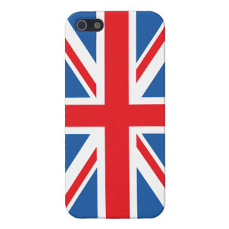 Union Flag/Jack Design iPhone 5 Cases
