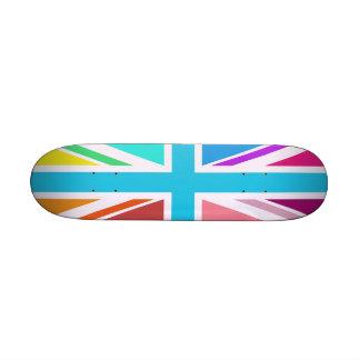 Union Flag/Jack Design – Multicoloured 20.6 Cm Skateboard Deck