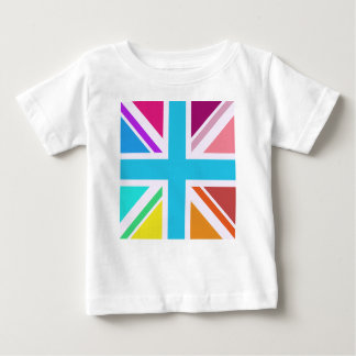 Union Flag/Jack Design - Multicoloured Baby T-Shirt