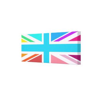 Union Flag/Jack Design – Multicoloured Canvas Print