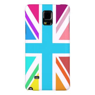 Union Flag/Jack Design - Multicoloured Galaxy Note 4 Case